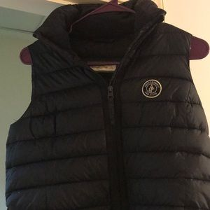 Abercrombie and Fitch navy blue vest